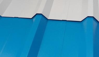 Профлист с полимерным покрытием С17-1090 0,6х1162