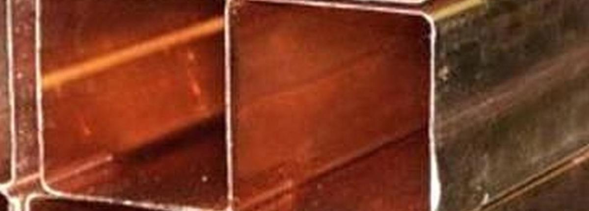 Труба медная квадратная 15х15х4 М1 бухта